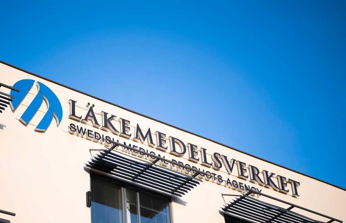Läkemedelsverket huvudkontor i Uppsala. Arkivbild.
