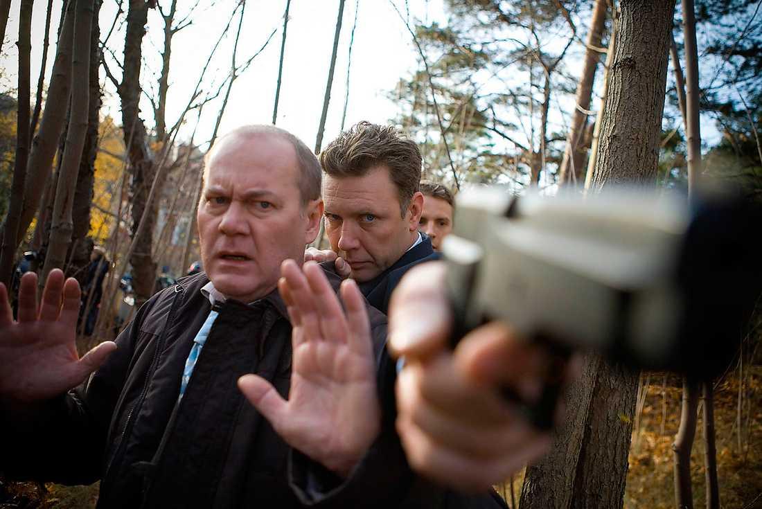 BÖRJAR SNART SPELA IN  Peter Haber, Mikael Persbrandt och Måns Nathanaelson är alla med i de nya filmerna. Inspelningarna startar nästa  månad i Stockholm.