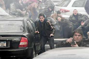 """Tom Cruise i """"Världarnas krig""""."""