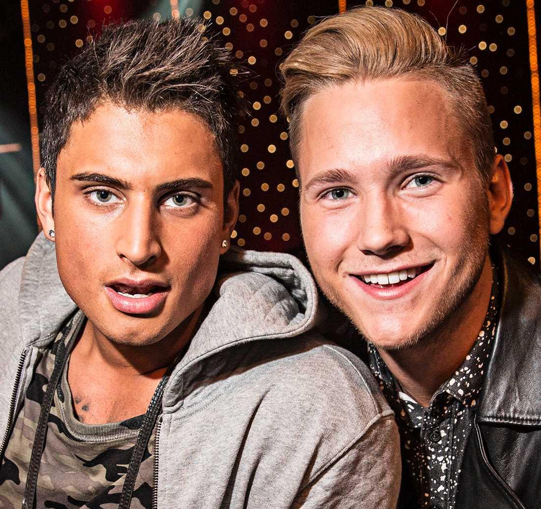 Samir och Viktor.