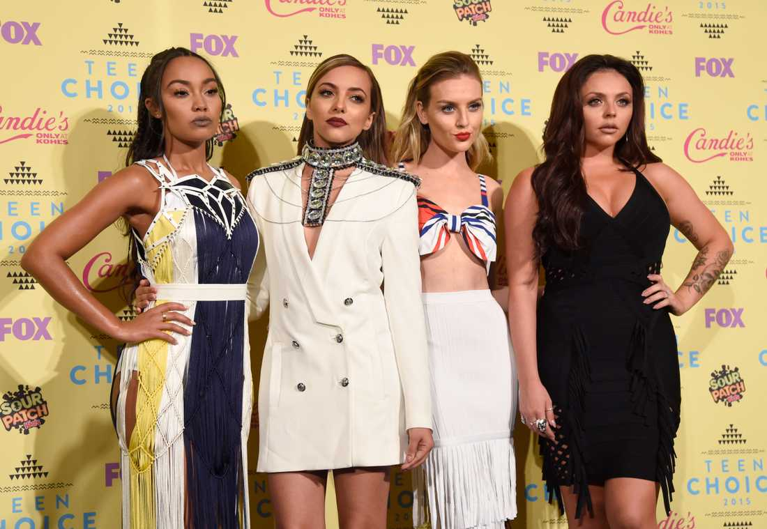 Popgruppen Little Mix, från vänster Leigh-Anne Pinnock, Jade Thirlwall, Perrie Edwards och Jesy Nelson.