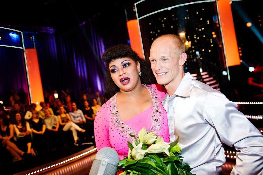"""Camilla Henemark var en av publikfavoriterna i årets """"Let's dance"""" i TV4. Henemark och danspartnern Tobias Karlsson kom på femte plats i tävlingen."""