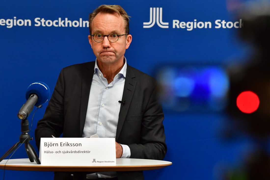 Björn Eriksson, Region Stockholms sjukvårdsdirektör.