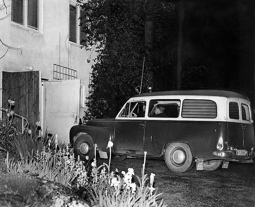 Polisteknikernas älsklingsbil, Volvo Duett.
