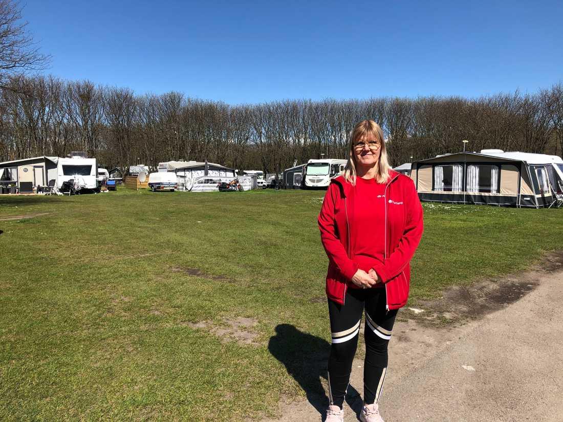 Gugga Saevarsdottir har förhoppningar om att de tyska turisterna ska kunna komma i slutet av sommaren.
