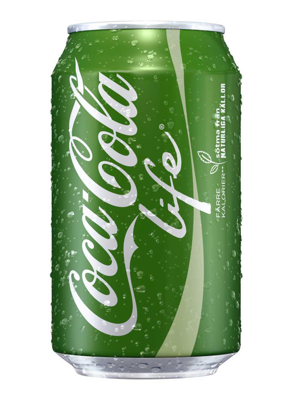 Coca Cola Life.