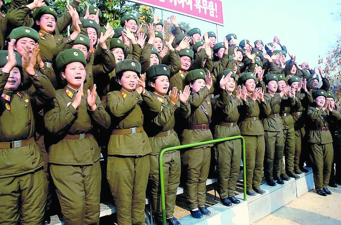 Nordkorea – en sluten militärdiktatur där miljoner undersåtar lever i misär.