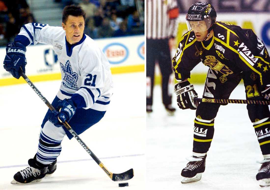 Ishockeylegendaren Börje Salming har representerat båda krislagen, Toronto och AIK under sin karriär.