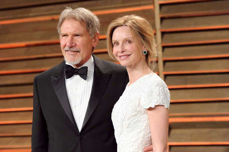 Harrison Fords och frun Calista Flockhart.