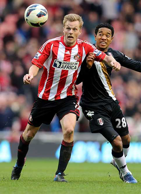 Sebastian Larsson kom till Sunderland 2011 och har tidigare spelat Premier League-fotboll för Arsenal och Birmingham.