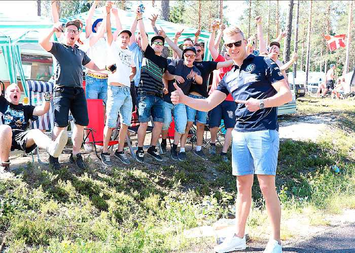 Hemmahoppet Johan Kristoffersson leder rallycross-VM inför deltävlingen i Höljes.