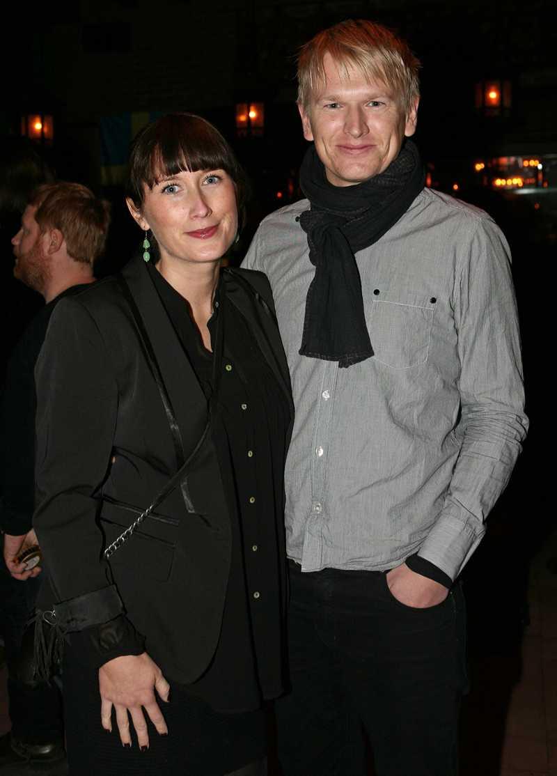 Lars Beckung, programchef på Kanal 5 tillammans med sin fru Anna Beckung Mårselius.