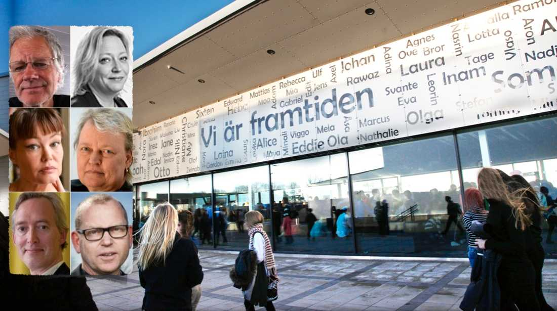 Segregationen i skolan växer runt om i Sverige. Men inte i Nyköping. Där har kommunen lyckats vända utvecklingen genom att bygga en skola där elever inte sorteras utifrån föräldrarnas bakgrund, skriver debattörerna.