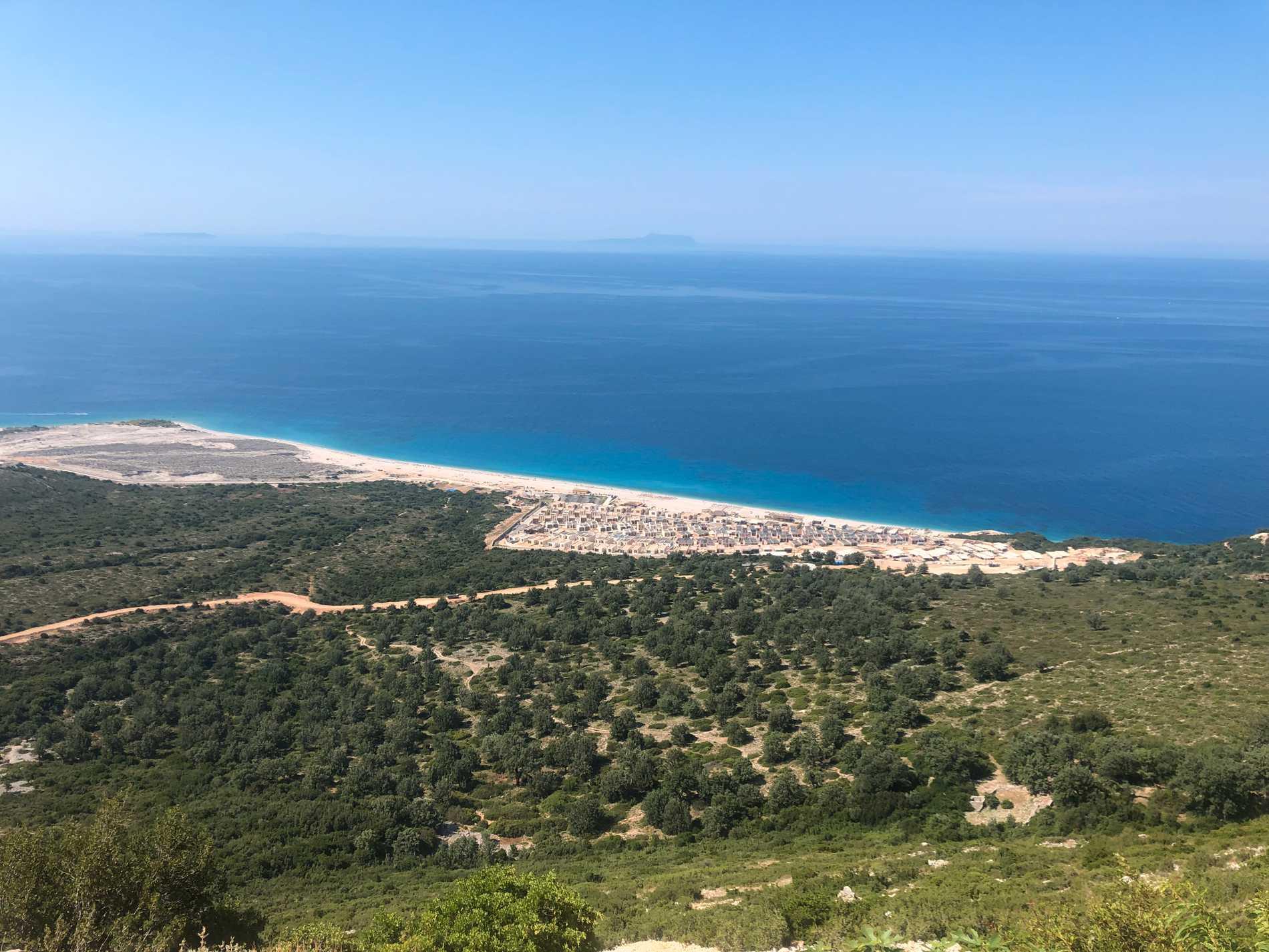 Utsikten från Logara är en av Albans favoritplatser.