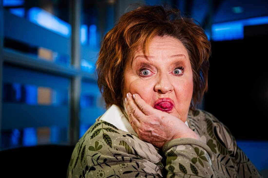 Lekfull. Marianne Mörck skrattar mycket och gärna i intervjun.