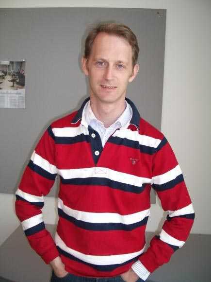 Rymdforskaren Eric Stempels.