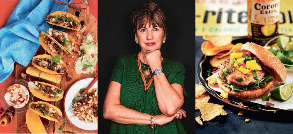 Tacos och hamburgare, ny kokbok av Lena Söderström.