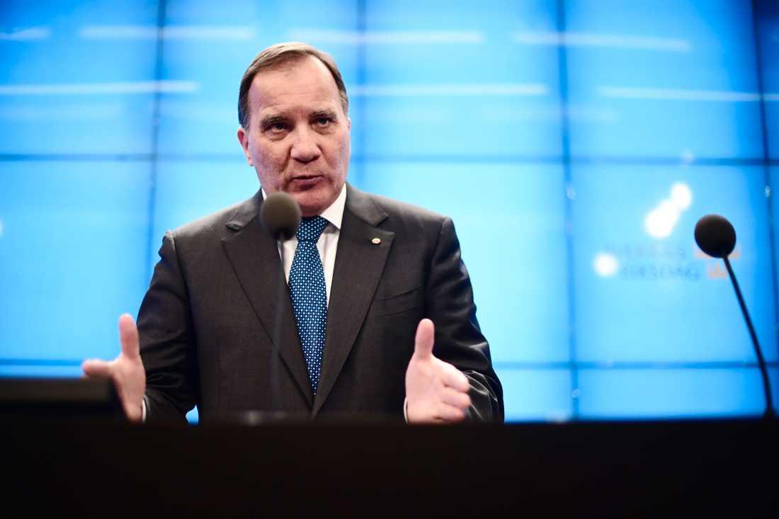 Stefan Löfven ger upp försök att bilda ny regering