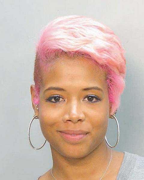 Den 2 mars 2007 greps sångerskan Kelis Rogers-Jones, 28, i Miami för en attack mot förklädda poliser och våldsamt motstånd.