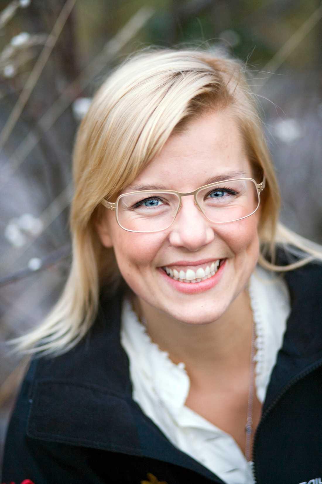 Sara Damber, vd för Reach for Change.