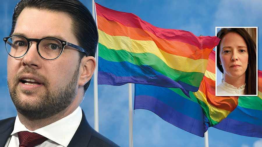 För bara några veckor sedan kunde vi se en kraftig reaktion mot flaggpolicyn i Sölvesborg, nu blir det knappt en nyhet att Sverigedemokraterna vill ha ett nationellt förbud, skriver Åsa Lindhagen.