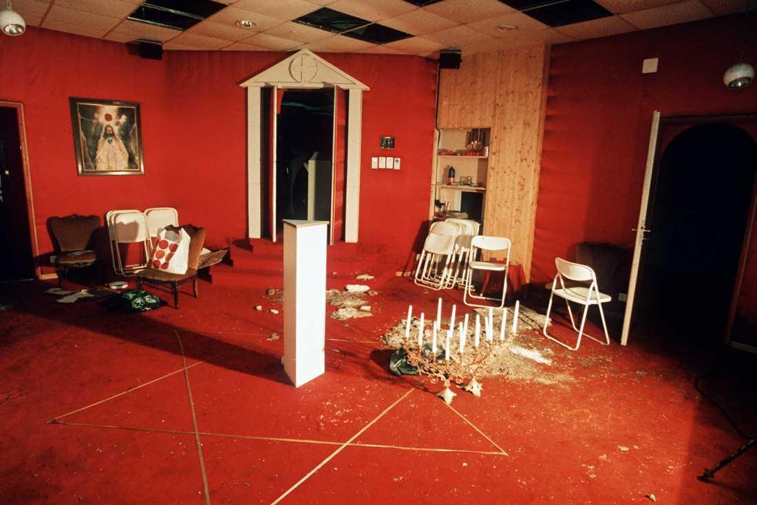 1994 tog drygt 50 personer inom sekten Soltempelorden sina liv i Kanada och i Schweiz. Arkivbild.