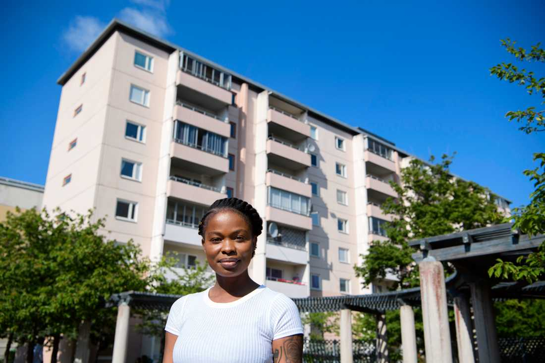 """""""Integrationen blir svår på grund av segregationen"""", säger Hallex Berry i Norsborg."""