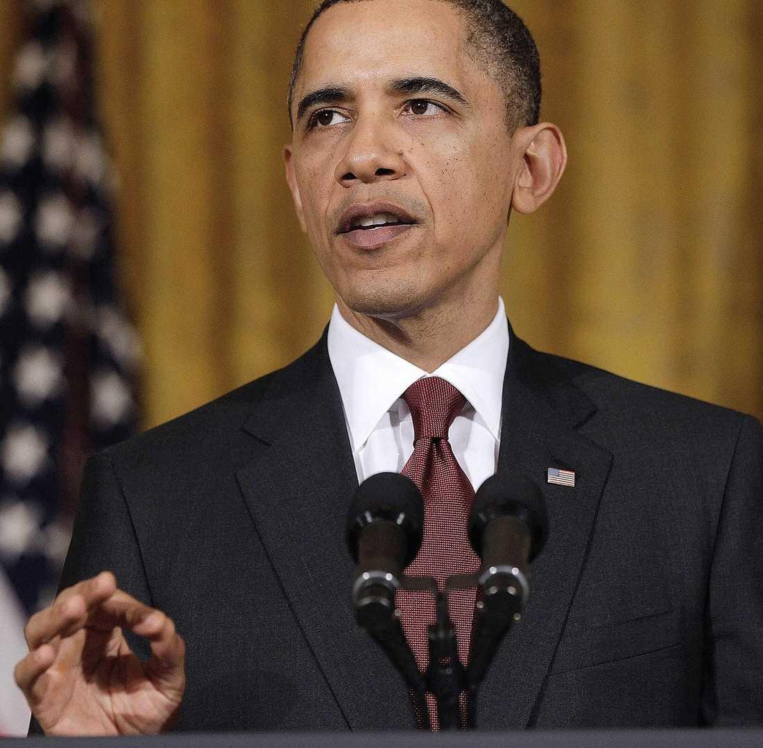 ... medan Obama är livrädd för att få ett nytt Irak på halsen.