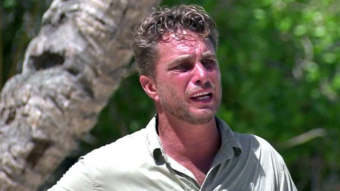 """Anders Öfvergård, programledare för """"Robinson""""."""
