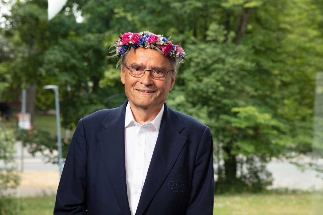 Arne Ljungqvists Sommarprat är ett imponerande cv, som inte mer än snuddar vid det personliga.