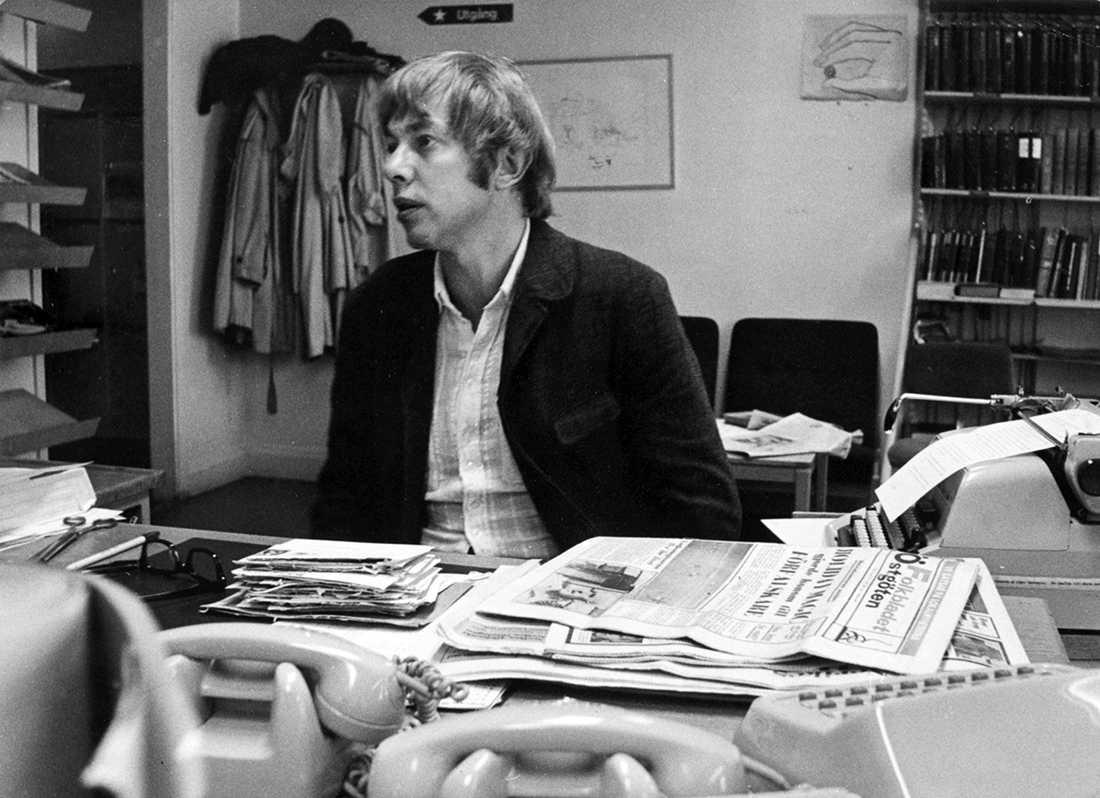 """Sigvard """"Sillen"""" Lindström 1973."""