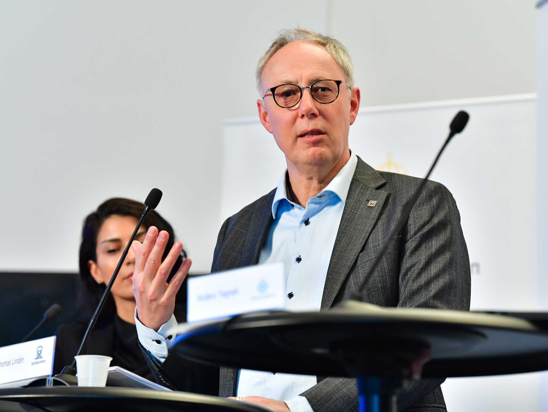 Thomas Lindén, avdelningschef på socialstyrelsen.