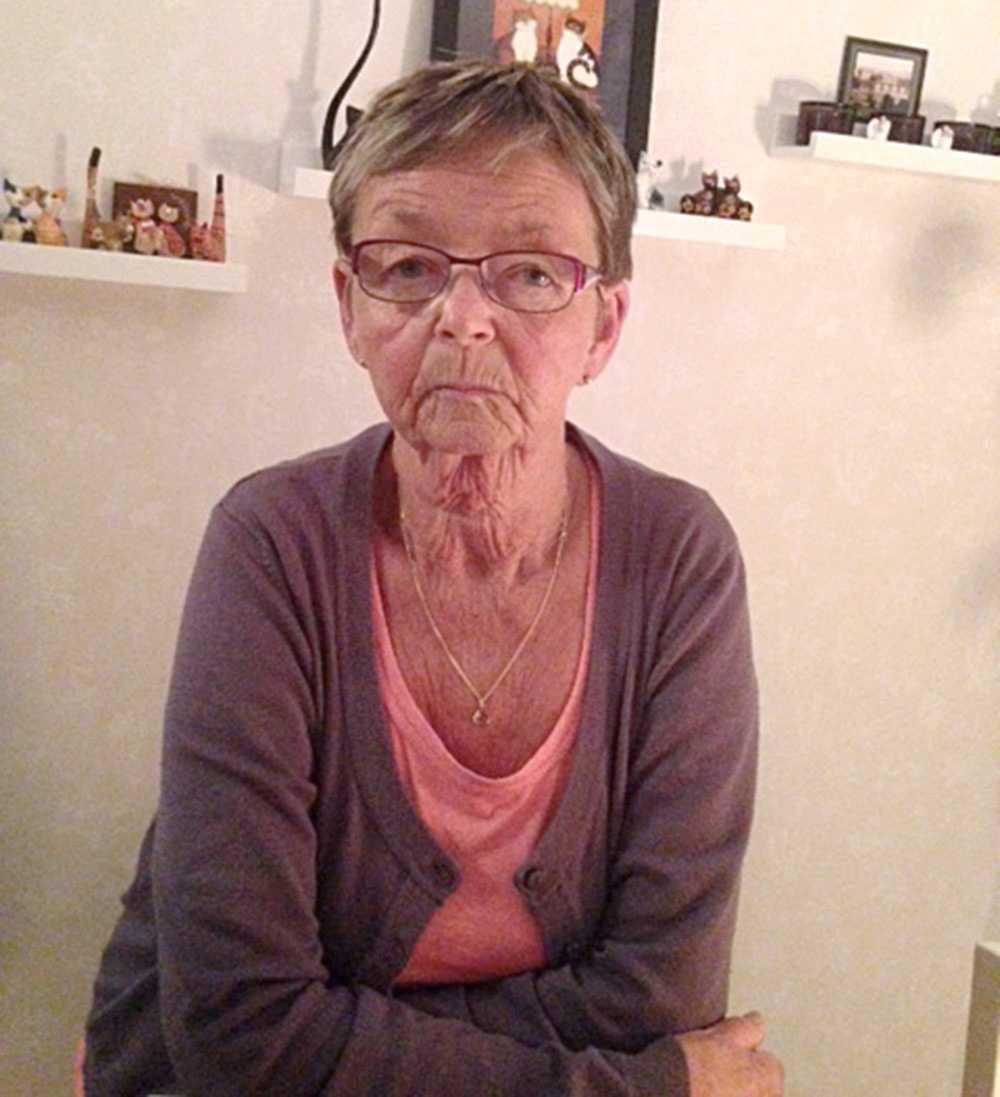 Grannen Karin Unosson.