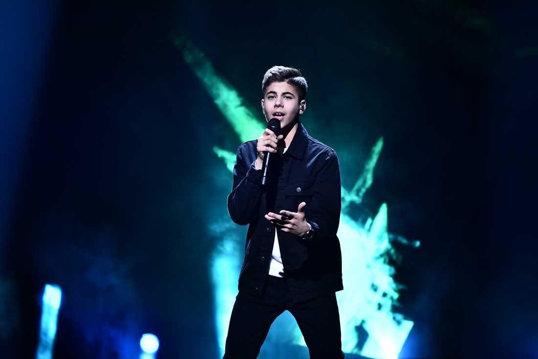 Bishara Morad i Melodifestivalen 2019.