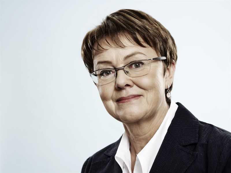Annika Elias,, tidigare ordförande i Ledarna
