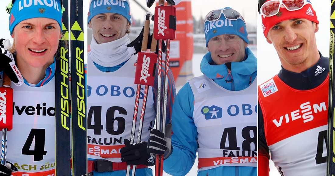 Ryska åkarna siktar på att starta på OS om 9 dagar