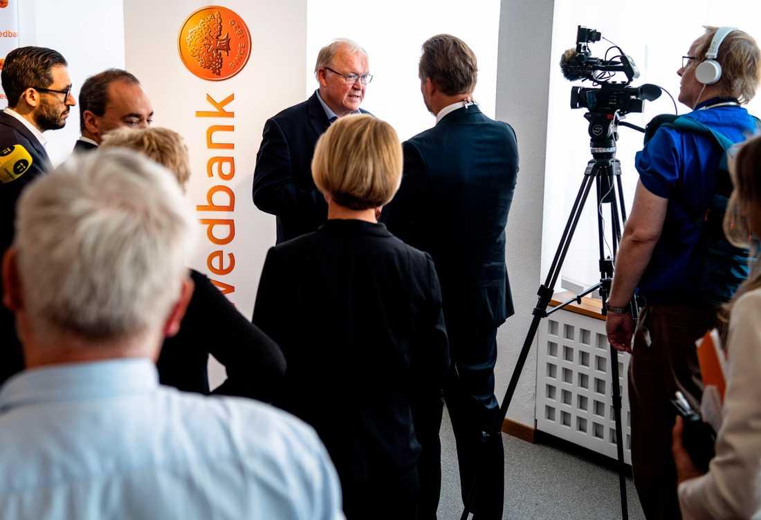 Persson är nu styrelseordförande i både Swedbank och statliga LKAB.