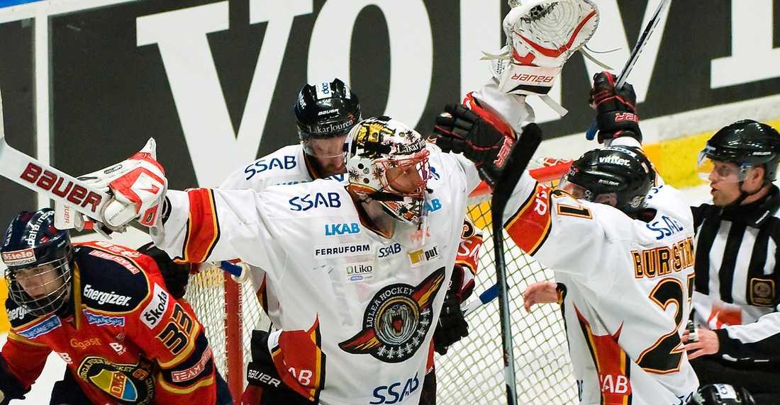 Luleås hjälte Anders Nilsson imponerade stort i Luleåmålet.
