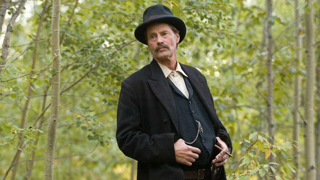 """Sam Shepard i """"Mordet på Jesse James av ynkryggen Robert Ford""""."""