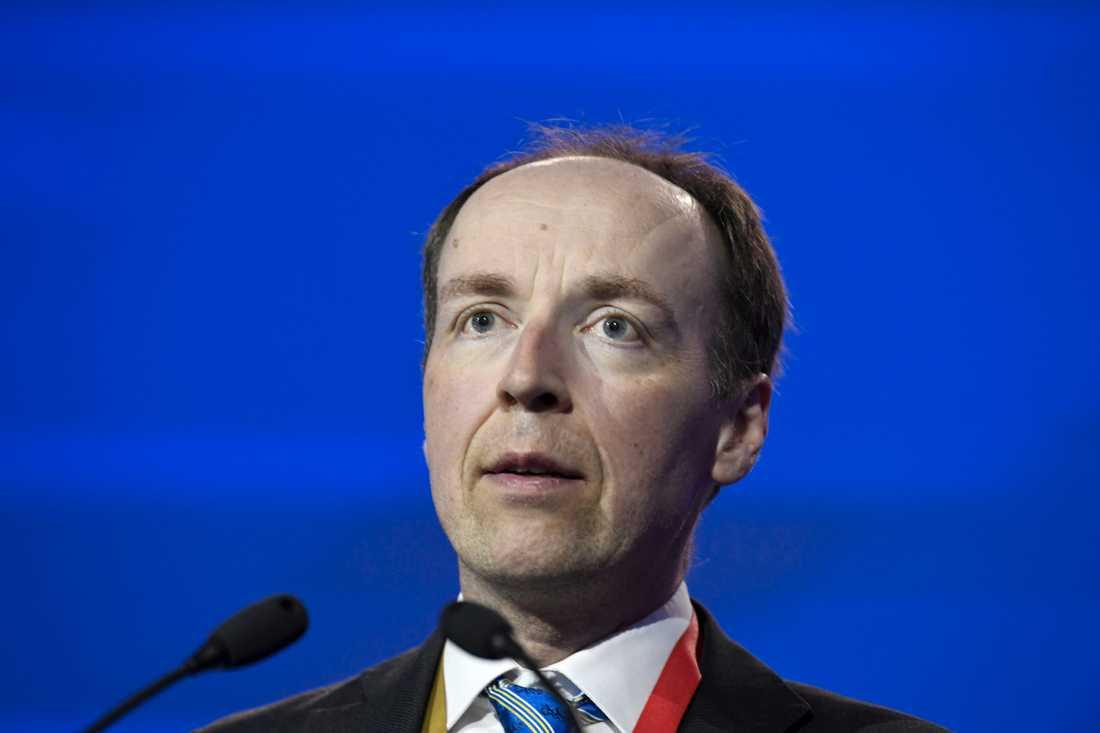 Jussi Halla-aho är tidigare dömd för hets mot folkgrupp