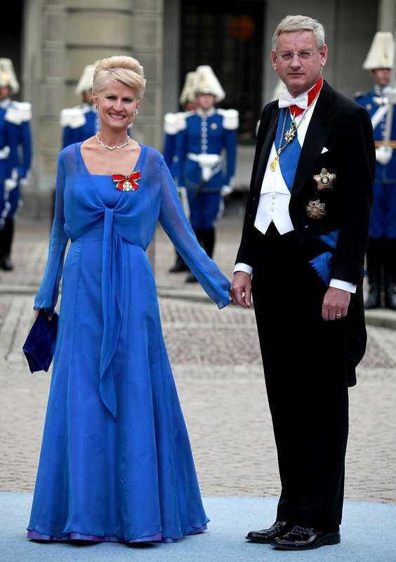 Carl Bildt, 62, och Maria Corazza Bildt, 50.