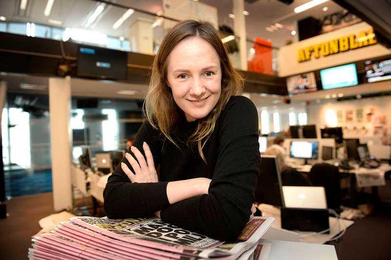 """""""Det är något vajsing med mig som fortfarande tror jag är två år och kan ändra allt"""", säger Aftonbladets nya kolumnist Lina Thomsgård."""