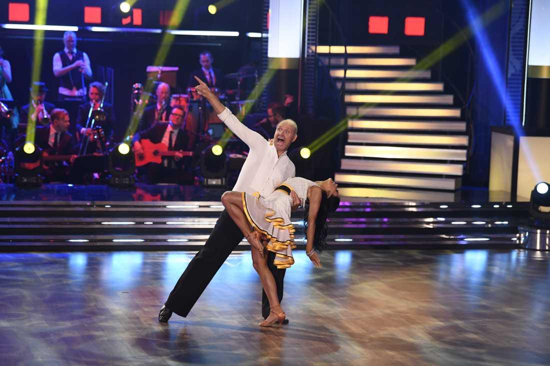 Thomas Ravelli och Jasmine Takacs.