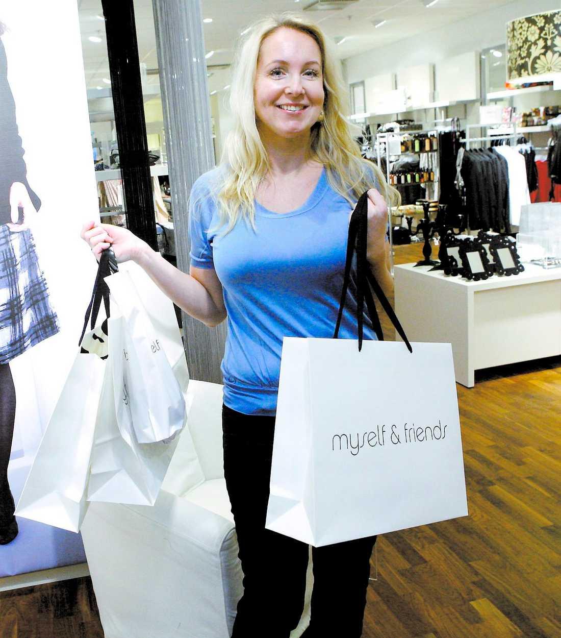 förbud Vår shoppingglada reporter Petra Weiss fick en utmaning: en vecka utan spontana inköp.
