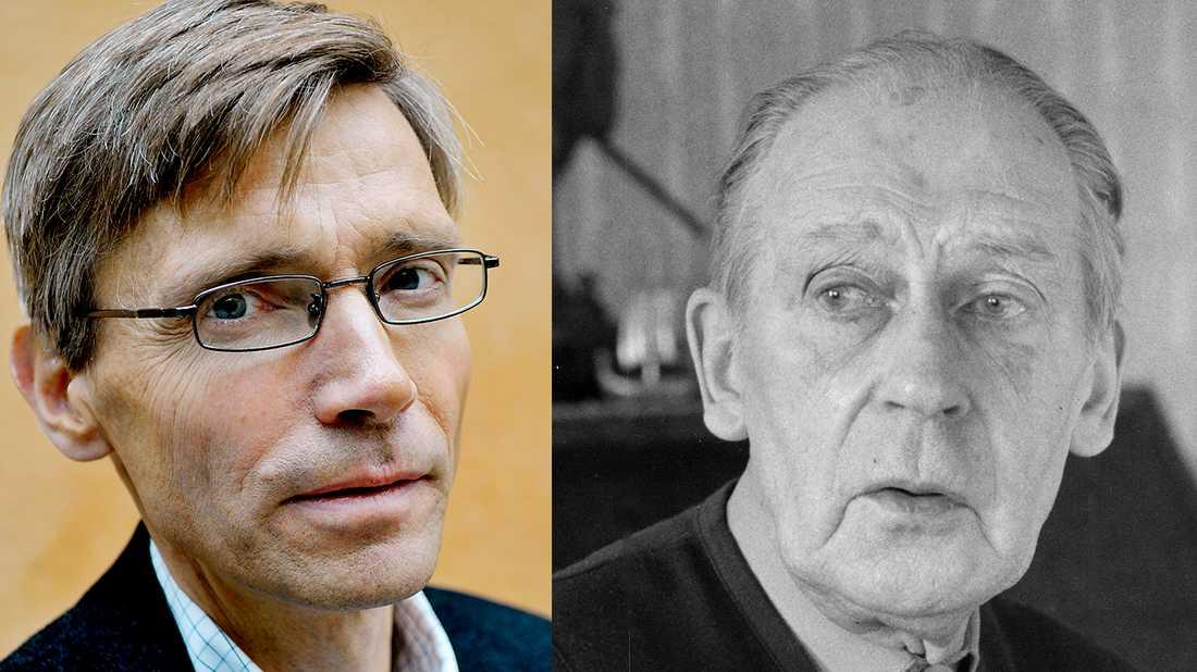 """Per Svensson litar på Sven-Olov Lindholms uppgifter att han blev kommunist. """"Jag förstår att Per Svensson gillar Lindholms berättelse"""", skriver Carsten Palmær."""