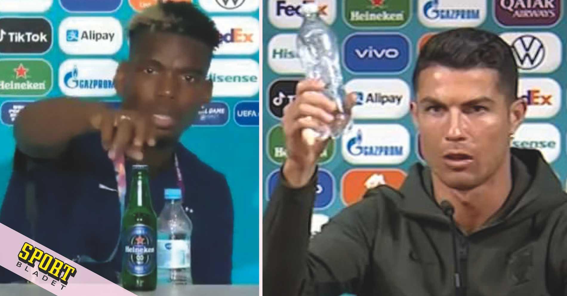 "Uefa agerar efter Ronaldos ""kupp"""