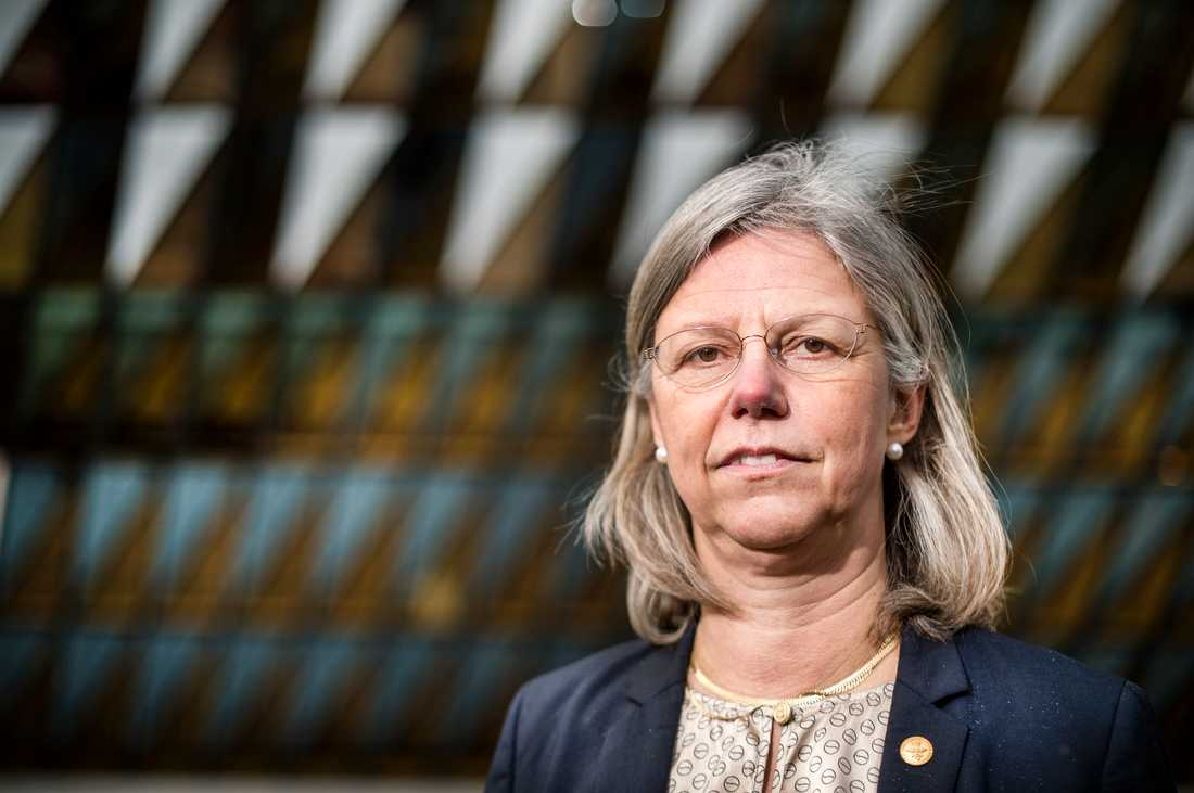 Karolinska institutets före detta prorektor Karin Dahlman-Wright har överklagat ett beslut om forskningsfusk. Arkivbild.
