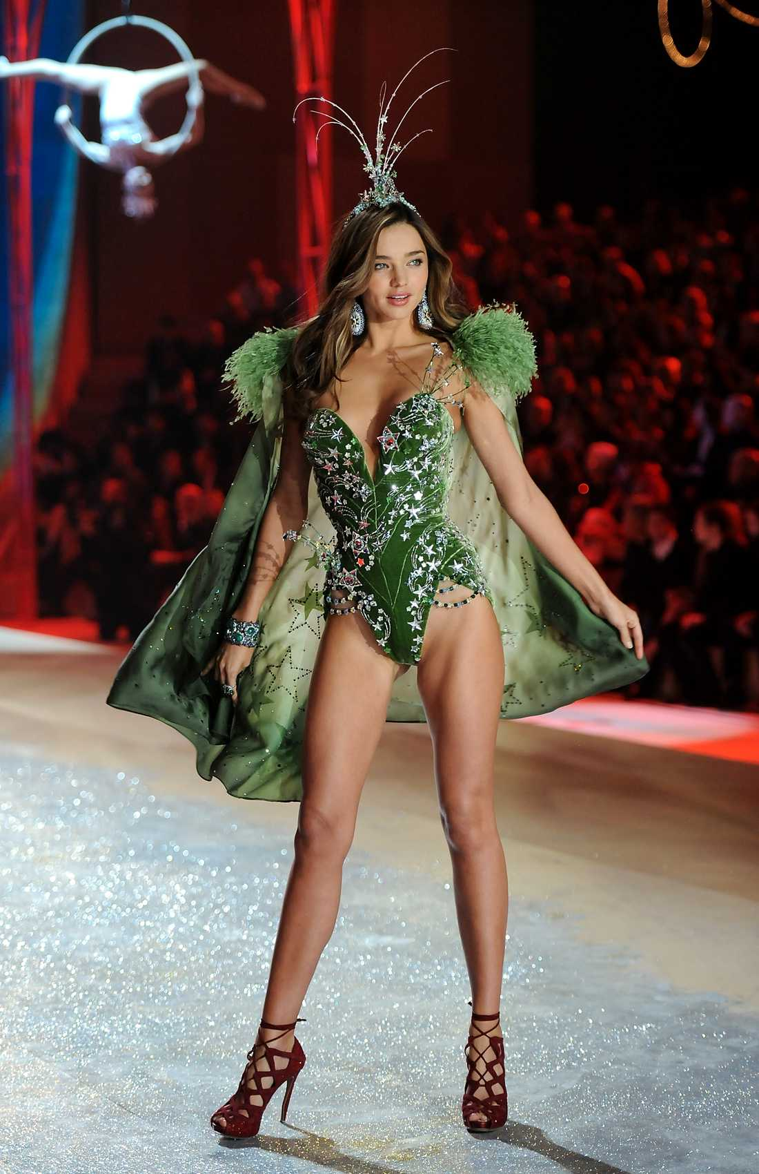 Miranda Kerr Victoria's Secret fashion show i New York, 2012. Foto: AP