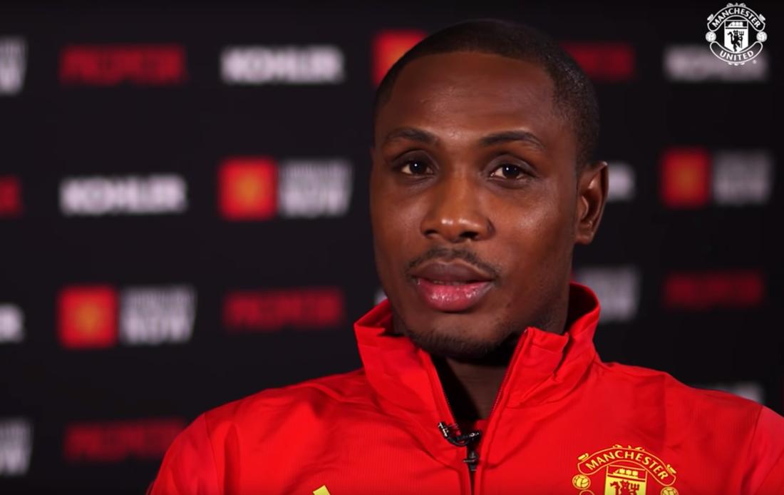 Manchester Uniteds nyförvärv Odion Ighalo.