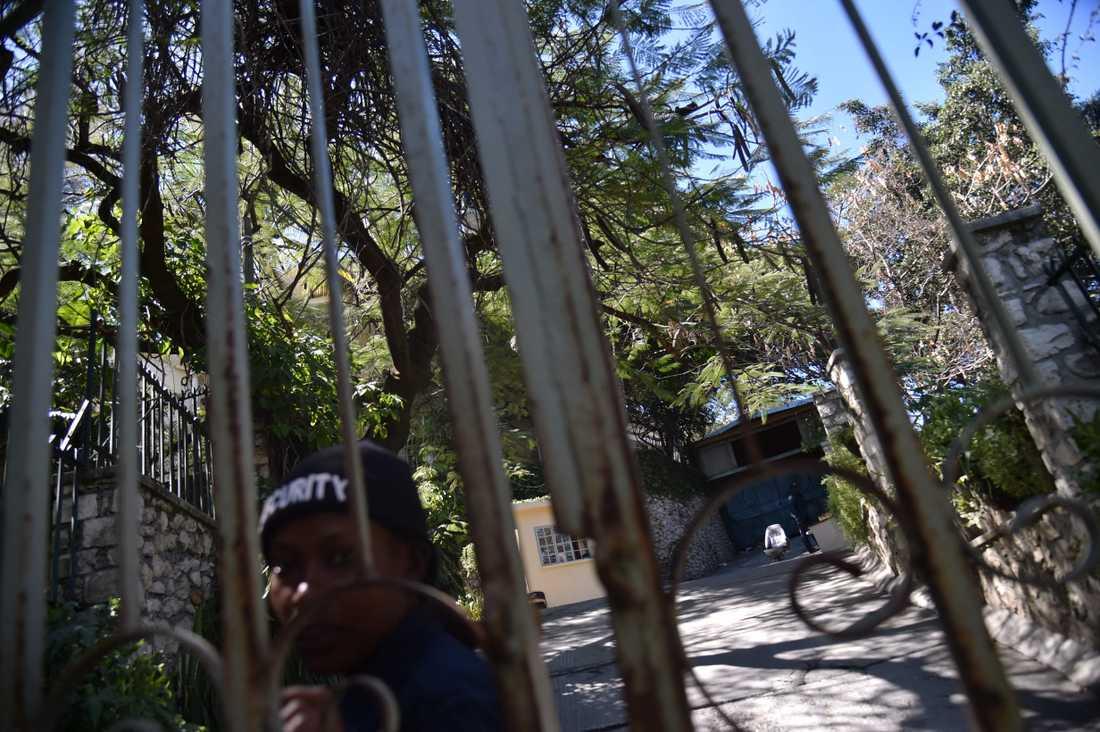 Oxfams kontor i Port-au-Prince, Haiti.